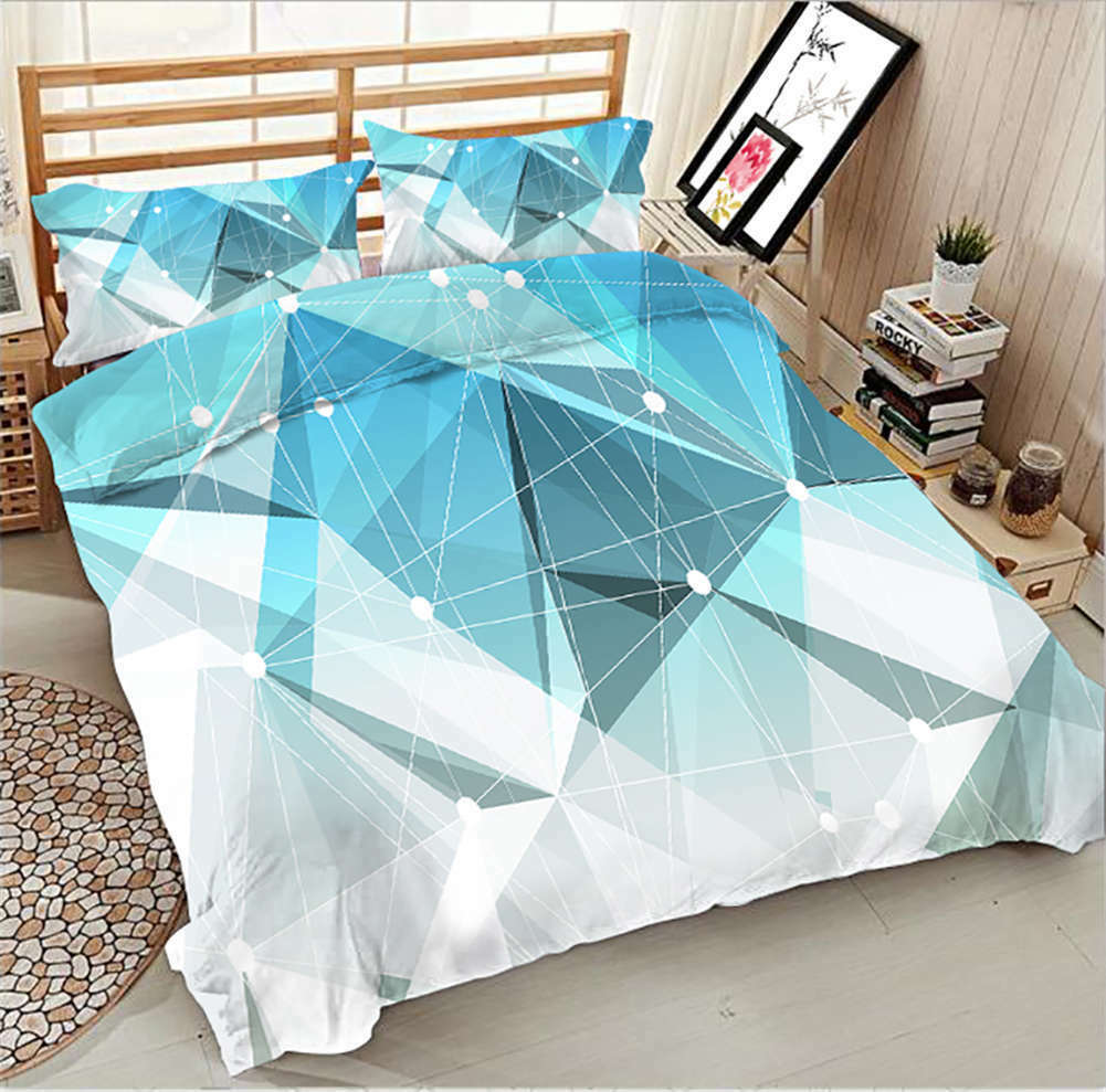 Three Dimensional 3D Printing Duvet Quilt Doona Covers Pillow Case Bedding Sets
