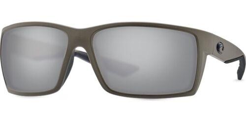 Costa Del Mar Reefton Matte Moss 580G Grey Polarised Sunglasses