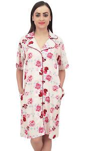 Peach Femmes Sleepshirt Vetements Bimba Floral Courtes Manches De Nuit Imprime CBOnOqAwt