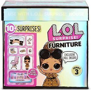 Letto e Lettino per Lil MobilI Accessori FURNITURE Casa Bambole LOL SURPRISE