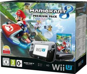 Nintendo-Wii-U-Konsole-Premium-Pack-32-GB-Spiel-Mario-Kart-8-OVP
