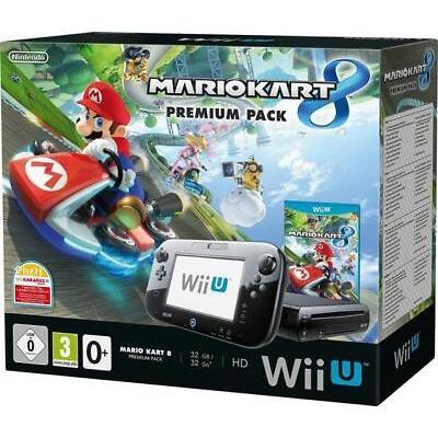 Nintendo Wii U   Konsole  Premium Pack 32 GB- Spiel  Mario Kart 8 ( OVP )
