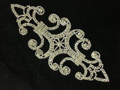 Rhinestone Brooch Applique Costume Dress Sewing Wedding Belt Cake Decoration #36