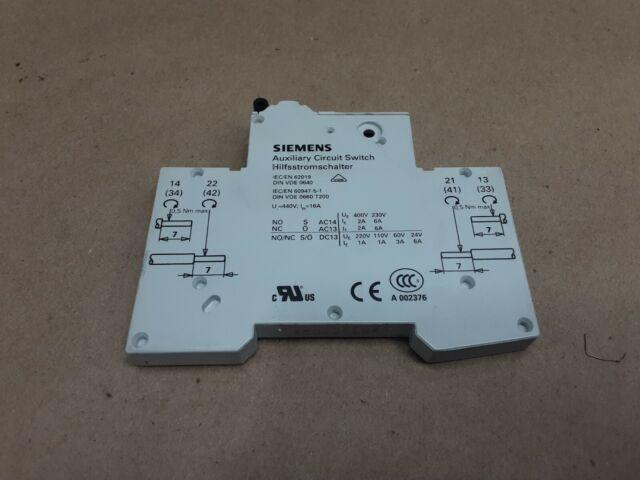 SIEMENS Auxiliary Switch Block 3RH5921-1EA11 3RH59211EA11 new in box free ship