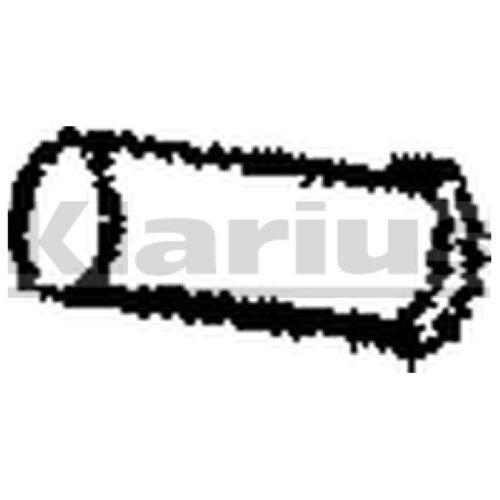 1x remplacement de qualité klarius oe tuyau d/'échappement silencieux d/'échappement pour BMW Essence