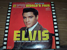 ELVIS PRESLEY AUTHENTIC AUTOGRAPH SIGNED RECORD ALBUM FROM ESTATE SALE