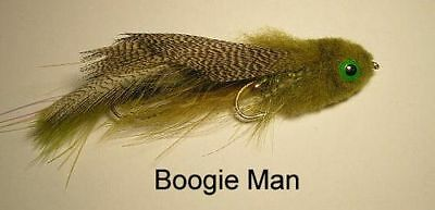 Galloup/'s Articulated Boogie Man Tan size #4//6    brook trout