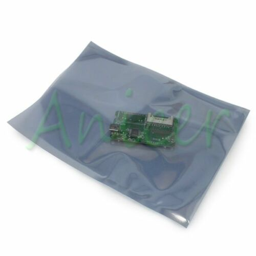 50pcs Anti-Static ESD Pack Antistatic Shielding Bags 258mm x 180mm Open-Top