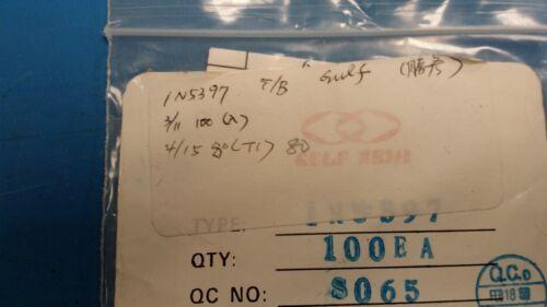 10 PCS 1N5397 GULF SEMI DIODE GEN PURP 600V 1.5A DO15