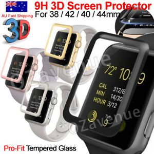 Apple-Watch-Series-1-2-3-4-5-Tempered-Glass-Screen-Protector-Full-Edge-iWatch