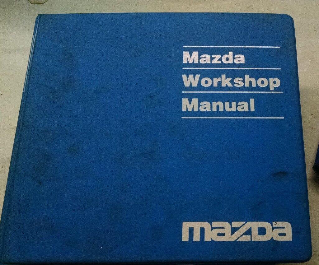 Wondrous 1993 Mazda Mx 3 Service Repair Manual Wiring Diagrams Shop Wiring Database Xlexigelartorg