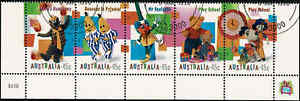 1999-AUSTRALIA-Childrens-TV-Strip-FU-CTO