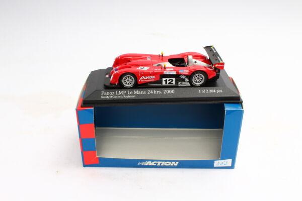 Action 034471 Panoz Lmp Le Mans 2000 Katoh O 'connell Raphanel 1:43 Gamme ComplèTe D'Articles