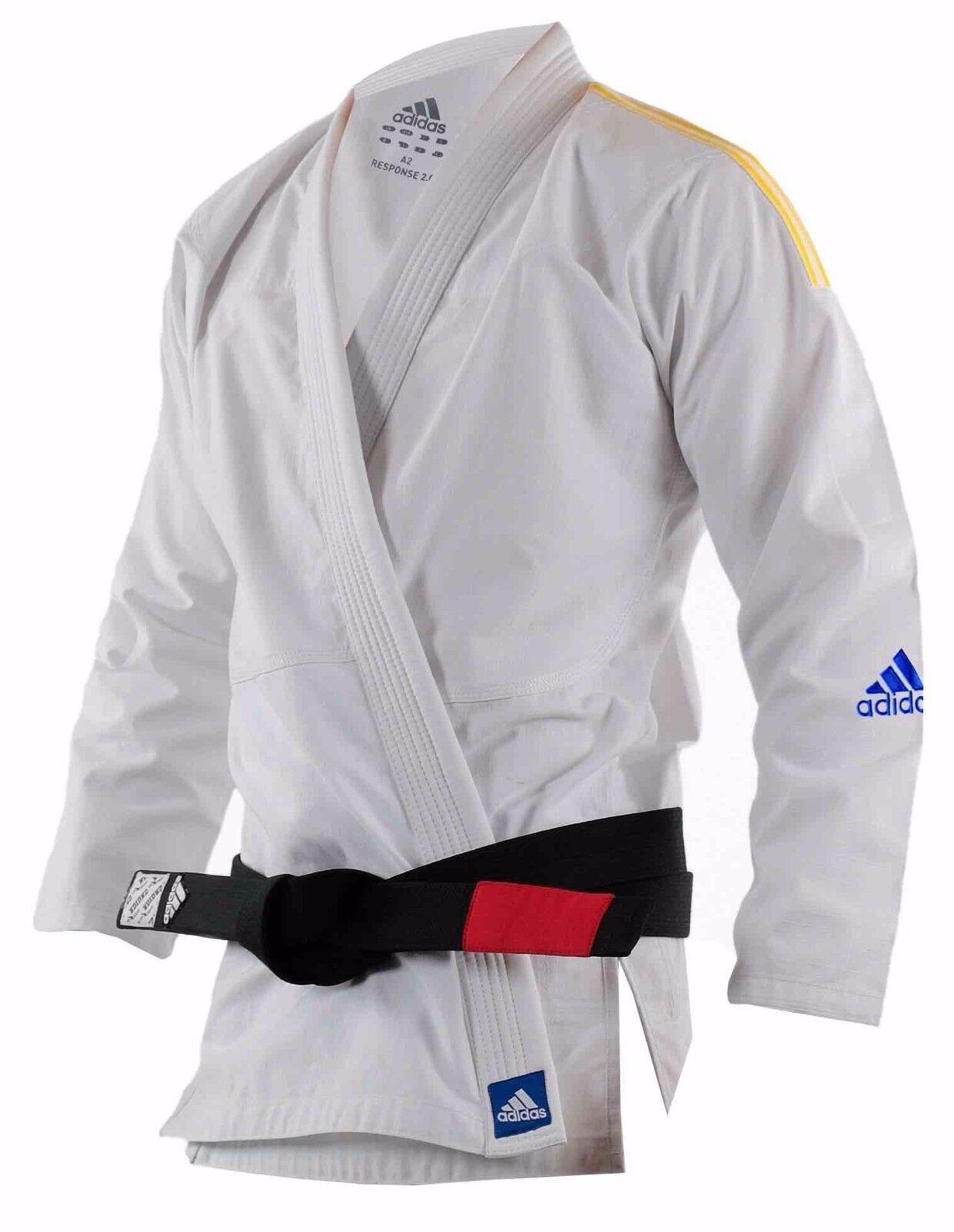 Adidas BJJ Gi Adult Kinds Brazilian Jiujitsu Suit wit A1 A2 A3 A4 M0 M2 M3