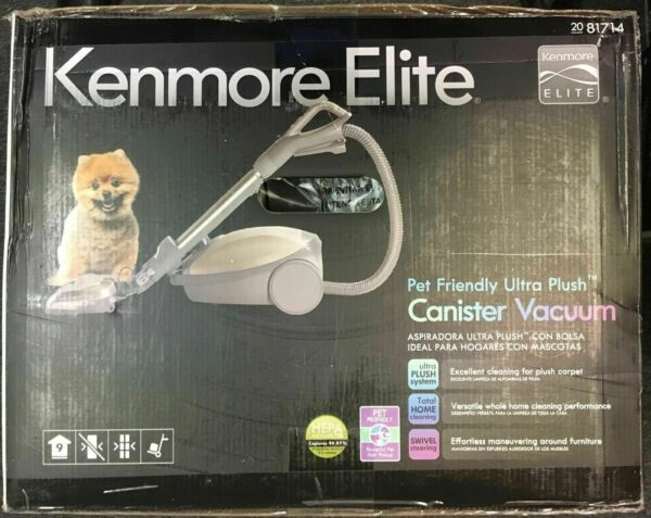 Kenmore Elite 81714 Pet Friendly Ultra Plush Canister