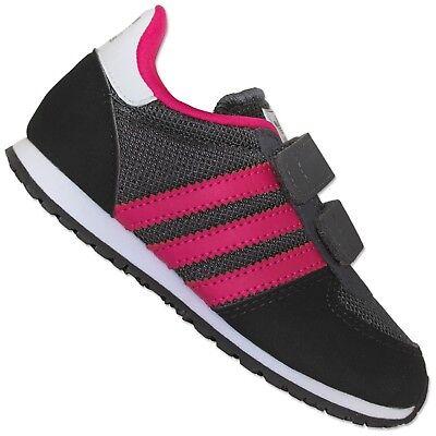 Adidas Adistar Racer Niñas Niños Zapatillas Deporte para Correr Gris Fucsia 23,5 | eBay