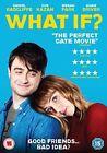 What If DVD 2014 Daniel Radcliffe Zoe Kazan