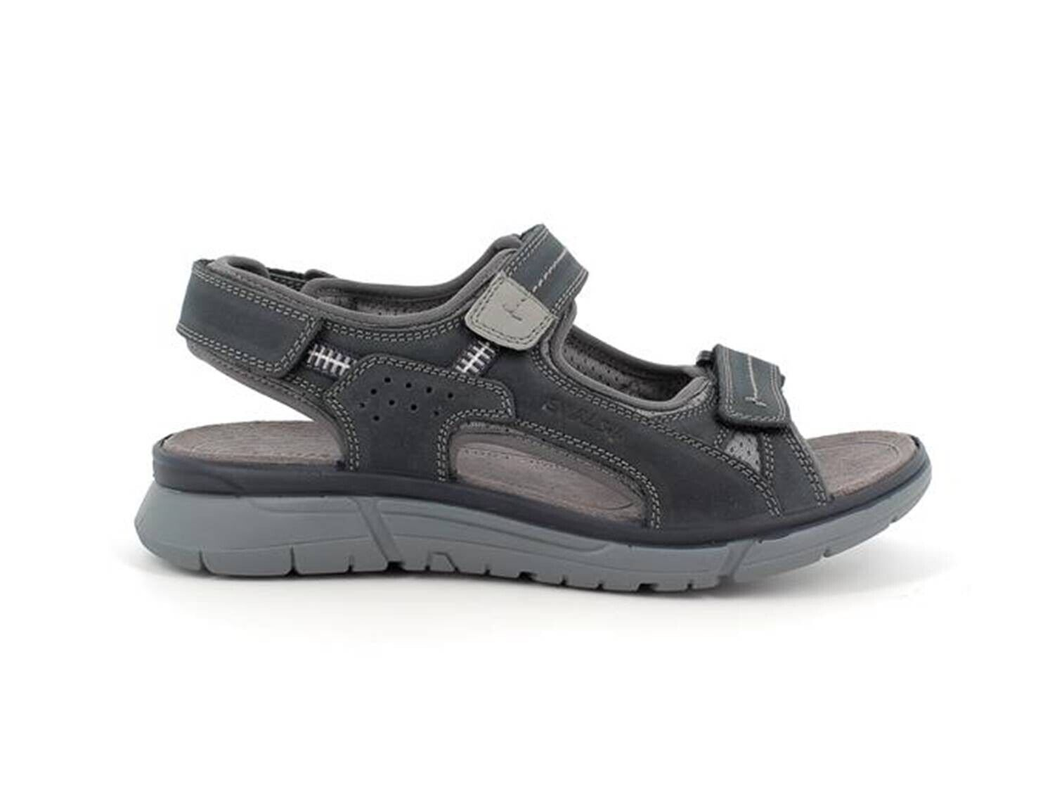 ENVAL SOFT 7221011 Sandals trekking Leather Soft Man Memory