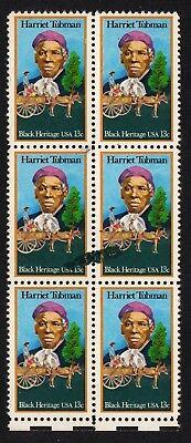 Scott #1744 Hell Usa Postfrisch Grün Tinte Smear Auf Harriet Tubman