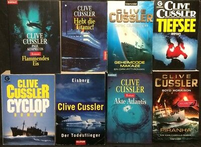 Jack Dubrul Eisberg U A FäHig Sammlung Paket V Noch Nicht VulgäR 13 Romane V Clive Cussler