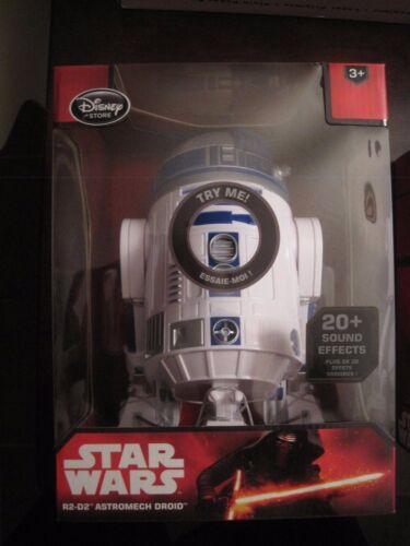 "Disney Star Wars R2-D2 Astromech Droid Talking Figure  9.5/"" NIP"