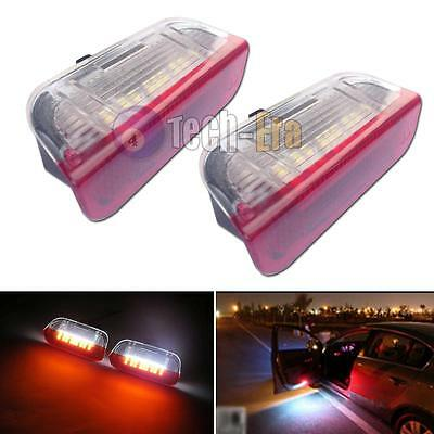 Error Free LED Side Door courtesy Lights For Volkswage Golf GTi EOS Jetta Passat