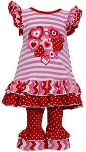 BONNIE JEAN NEW XOXO be my valentine RED DRESS PARTY VALENTINE BIRTHDAY