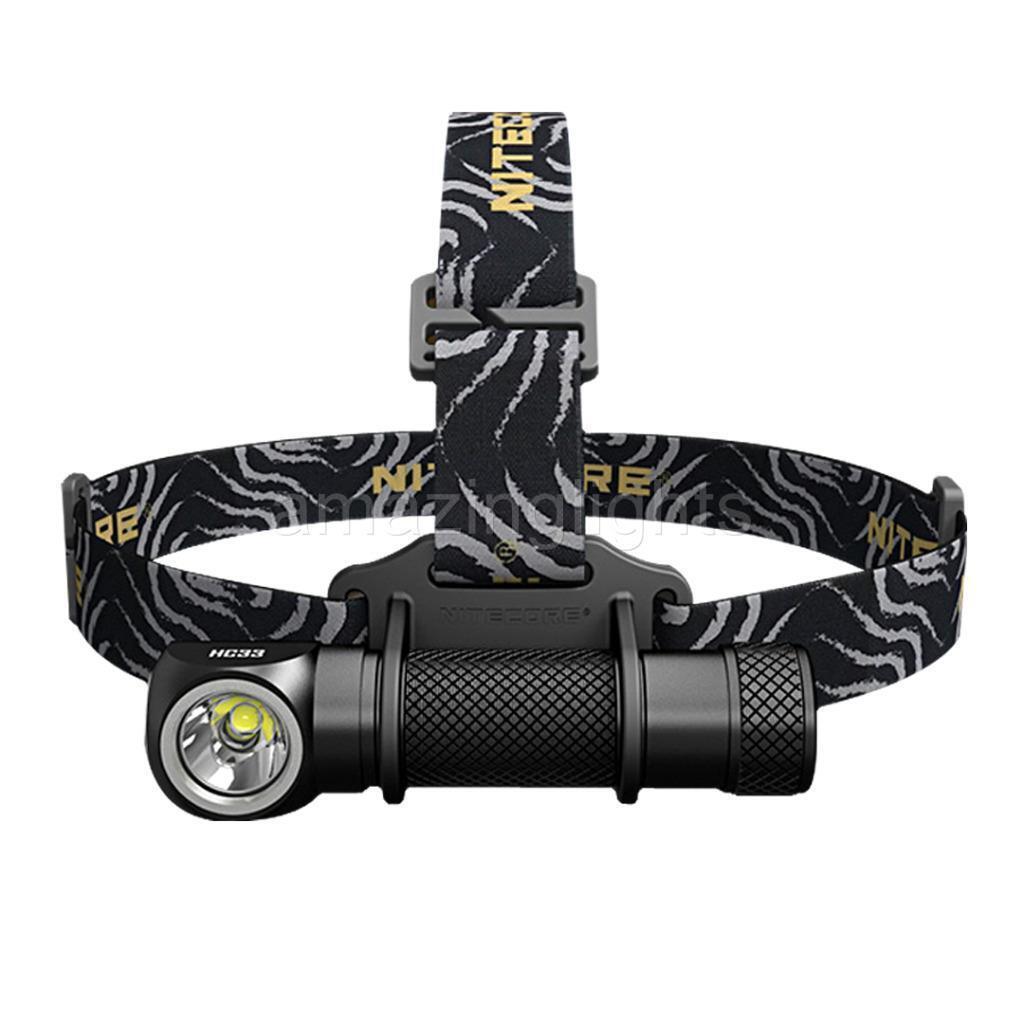 NITECORE HC33 1800 Lumens High Performance Versatile LShaped Headlamp