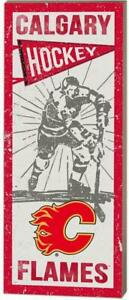 Calgary Flames Vintage Player Wood Sign (New) Canada Preview
