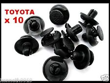 TOYOTA RAV 4 LAND CRUISER  FENDER PUSH-TYPE REPLACEMENT PLASTIC CLIPS T33