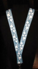 Disney Pin Lanyard Mickey Blue Icon 36 Inch Size for Small Adults/child