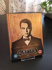 The Great Gatsby 3D Blu Ray Steelbook UK (Worldwide play)