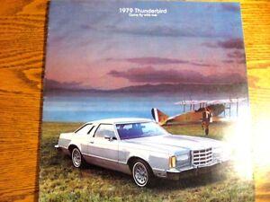 1979-Ford-T-bird-Thunderbird-Brochure-Aviation-Theme-Original-79
