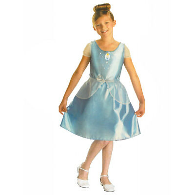 Child Disney Cinderella Outfit Fancy Dress Costume Book Week Princess Kids Girls