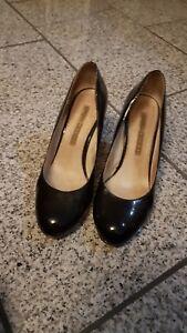 new style 35b27 9da20 Details zu Damenschuhe 37 gebraucht von Buffalo in schwarz hochglanz
