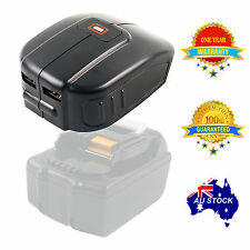 USB Mobile battery charger adaptor for Makita 14.4V 18V BL1830 BL1815 Li-ion bat