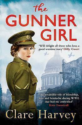 "1 of 1 - ""AS NEW"" The Gunner Girl, Harvey, Clare, Book"