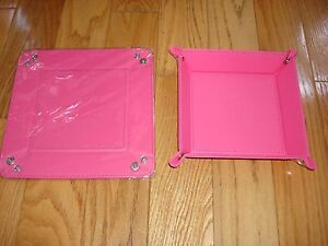 AntiSocial Social Club FW Leather Pink Trailing Key Tray ASSC HOT DEAL