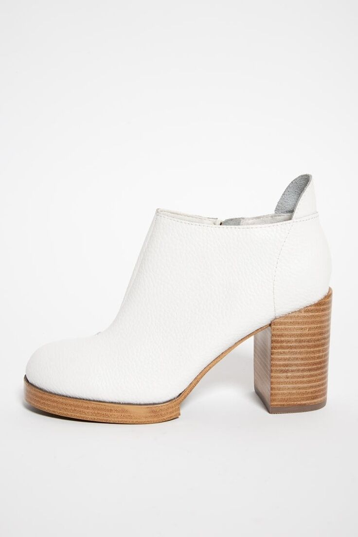 Cheap Monday blanc Layer Heel Platform chaussures Taille 7