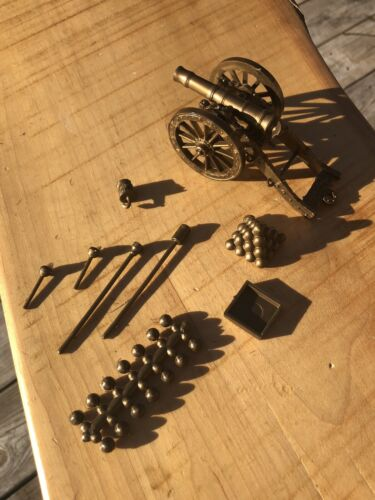 Marx AWI Revolutionary War CANNON accessories CTA ACCURATE 1776 Sons of Liberty