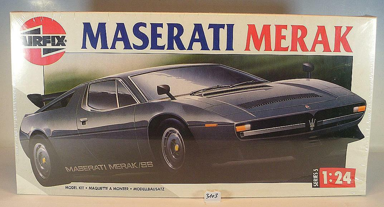 Airfix 1 24 Nr. 05412 Kit Bausatz Maserati Merak OVP  3103  | Neue Produkte im Jahr 2019