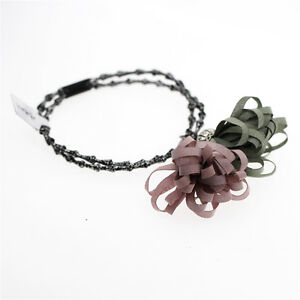 Pale Blue Navy Pink Peony Women Girl Elastic Hair Band Wrap Accessories HA265