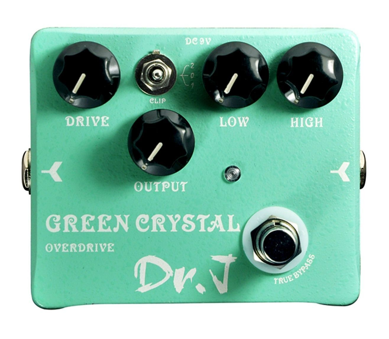 NEW DR. J D50 GREEN CRYSTAL Overdrive Pedall  FREE Shipping  US SELLER