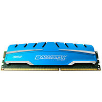 Crucial 8 GB UDIMM 1600 MHz PC3-12800 DDR3 Memory (BLS8G3D169DS3)