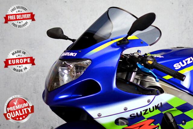 RACING DOUBLE BUBBLE SCREEN WINDSHIELD SUZUKI GSX-R 600 01-03 K1 K2 K3 11  COLORS