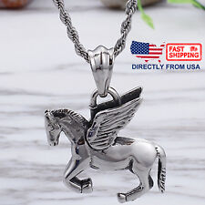 Gothic Dragon Tomahawk Pendant CZ Stainless Steel Man/'s Vintage Jewelry Pedant