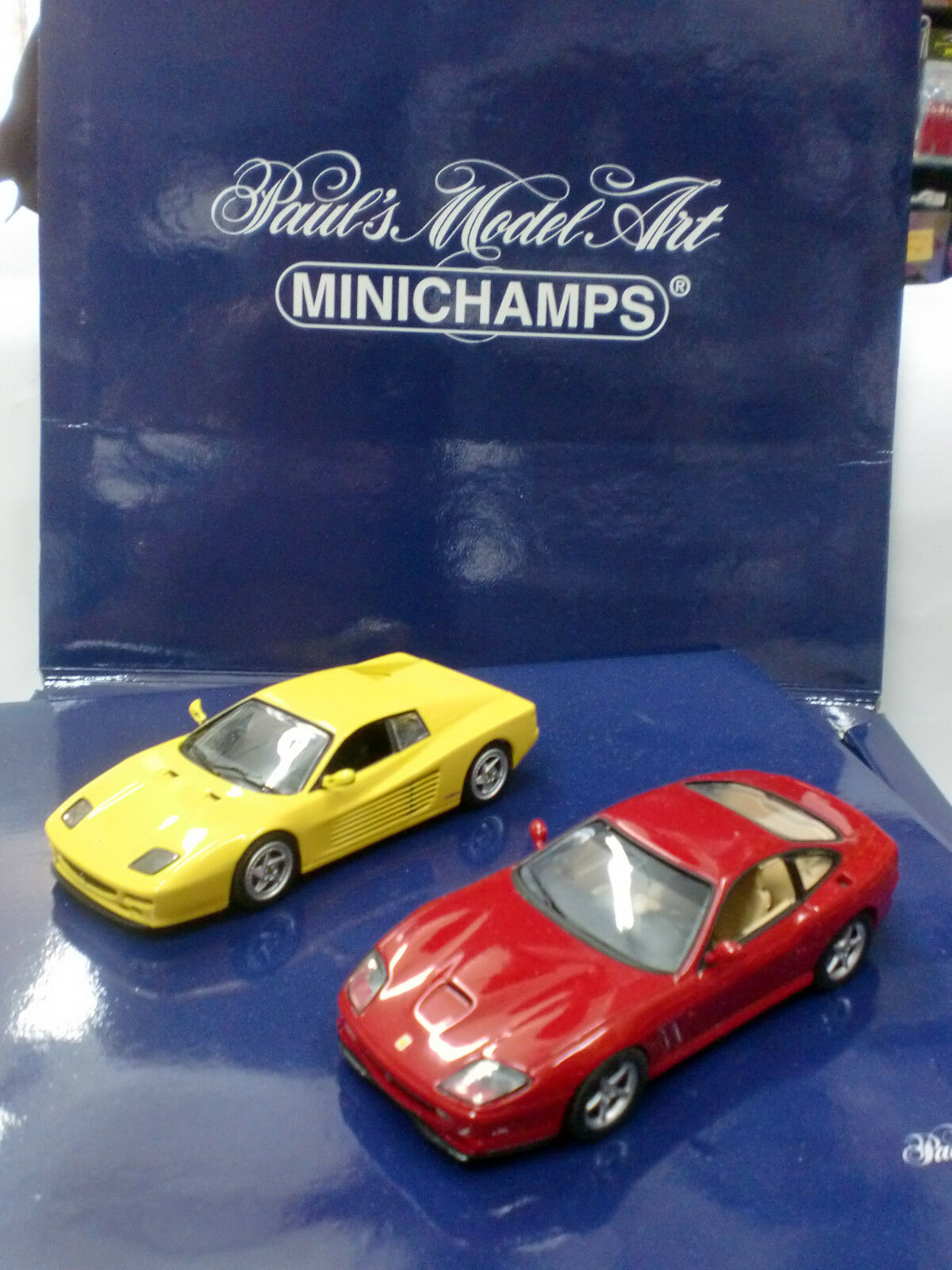 MINICHAMPS 1 43 - SET 2 FERRARI - ART. 431000003