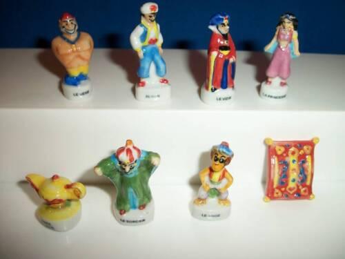 GENIE ALADDIN CARTOON Mini Figurine French Porcelain FEVES Miniature Figure