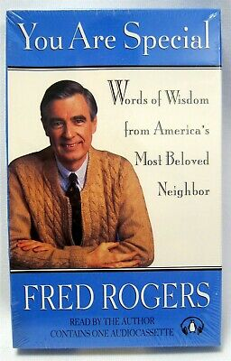 Rare Fred Mister Rogers You Are Special Audio Cassette Audiobook Sealed Nos Ebay