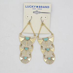 lucky-brand-women-jewelry-vintage-gold-tone-pave-hoop-earrings-turquoise-dangle
